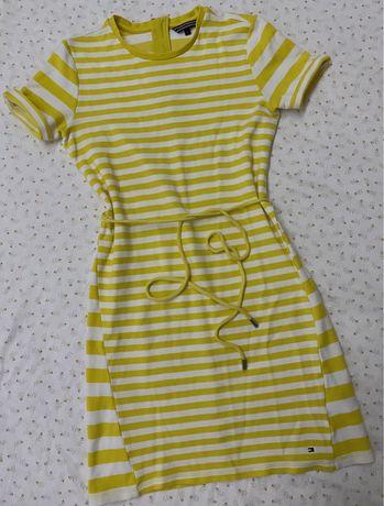 Платье женское Tommy Hilfiger, платье в полоску