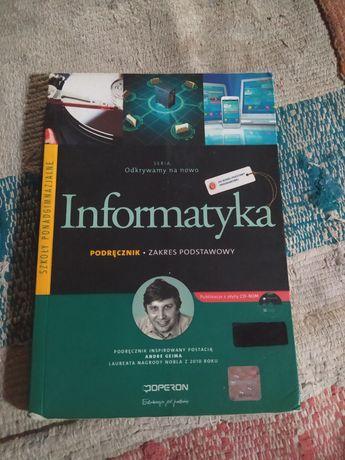 """Podręcznik Informatyka """"Odkrywamy na nowo"""" Operon"""