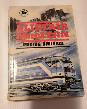Alistair McLean książka akcji Pociąg śmierci