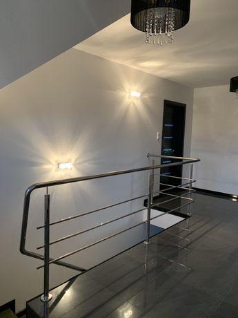 Balustrada schody chrom
