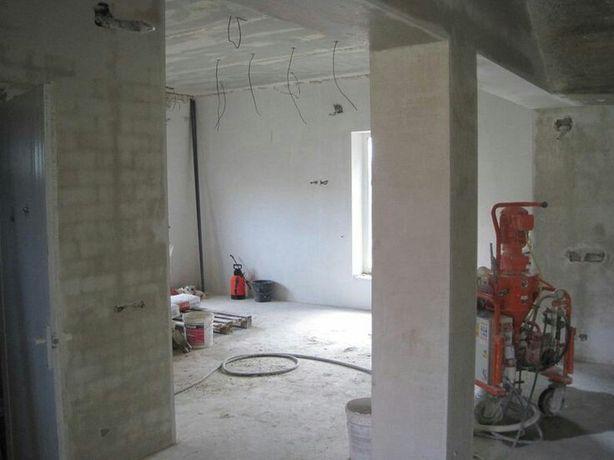 Полуавтоматическая штукатурка стен в Днепре и округе.