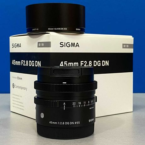 Sigma 45mm f/2.8 DG DN Contemporary (Sony FE) - NOVA