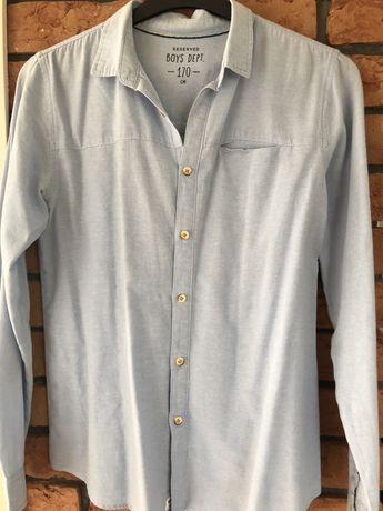 Koszula niebieska 170 cm