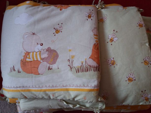 Защита с балдахином на  детскую кроватку