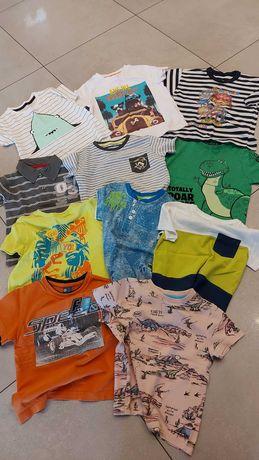 Koszulka dziecięca ZESTAW r.98-104 t-shirt