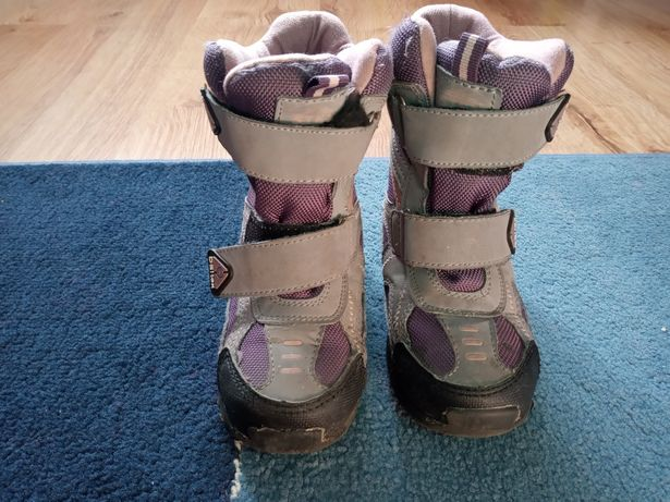 Śniegowce dziecięce buty zimowe dziewczynka rozmiar 27