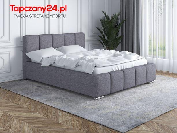 Eleganckie łóżko tapicerowane Lea 140/160/180/200 +pojemnik na pościel