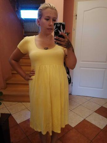 Żółta sukienka, roz 40