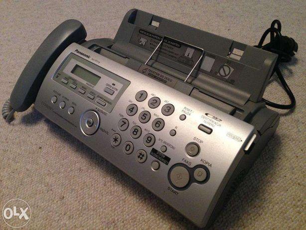 Faks Panasonic KX-FP218PDS Stan idealny