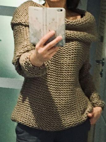 Sweter damski, Oversize, nowy