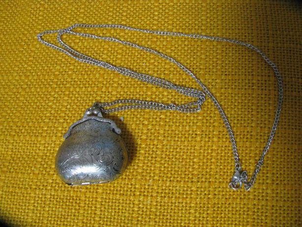 Винтажный кулон кошелёк для хранения реликвий