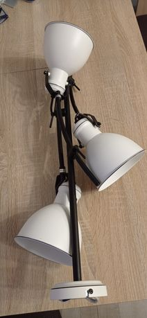 Lampa wisząca ZUMBA biało-czarna E27 CANDELLUX