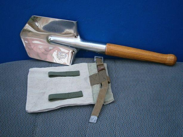 """Лопата мала піхотна МПЛ - 50 """"Люкс"""" із нержавіючої сталі із чохлом."""