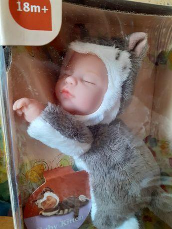 Спящий сплюшка Кот Анне Геддес Гедес Anne Geddes gedes