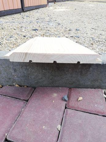 Deska Elewacyjna 2 cm grubości, Podbitka 1,5 cm grubości.