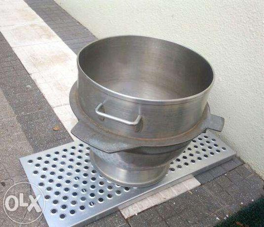 Balde para batedeira planetária em inox 30 litros Sopoco