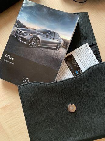 Оригінальна книжка Mercedes-Benz . А5