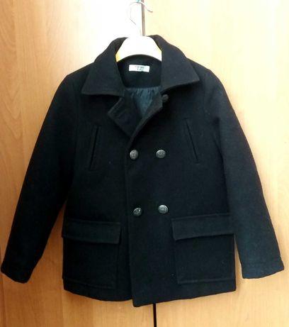Короткое пальто на мальчика  (Кашемир)