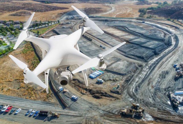 Usługi dronem - zdjęcia i filmy z lotu ptaka, ortofotomapy, nmt