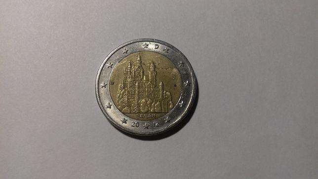 2 евро Замок Нойшванштайн ( Германия, 2012 год )