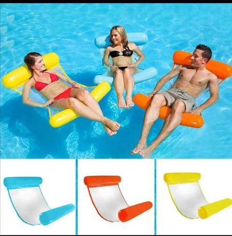 Espreguiçadeira flutuante para piscina