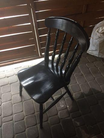 Krzesło drewniane z prlu prl zabytkowe zabytek antyk stare renowacji