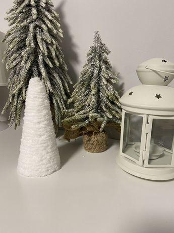 Елочка заснеженная елка искуственная новый год декор новогодний