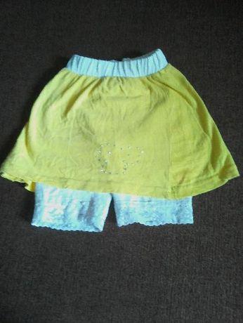 ПРОДАМ юбку-шорты, велотреки для девочки