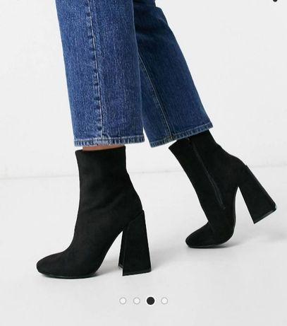 ботинки сапоги демосезонные asos