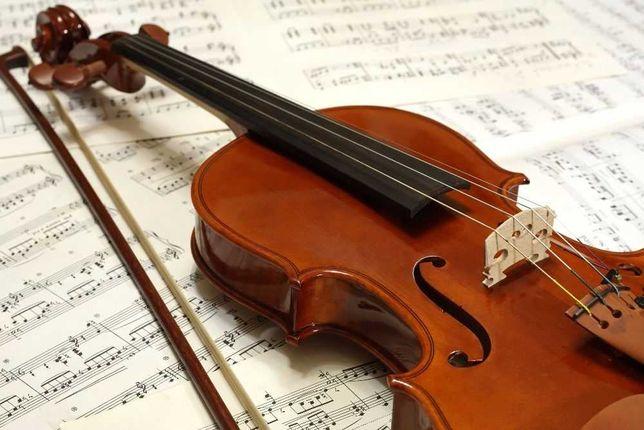 Oprawa muzyczna- skrzypce
