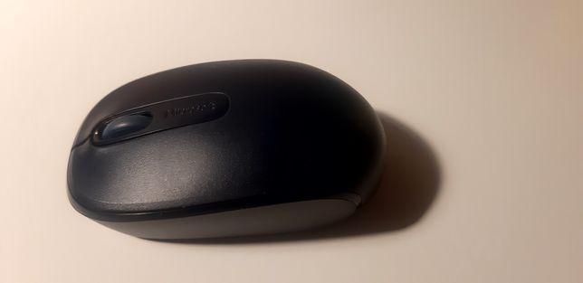 Myszka czarna Microsoft 1850