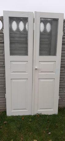 Дерев'яні подвійні міжкімнатні двері