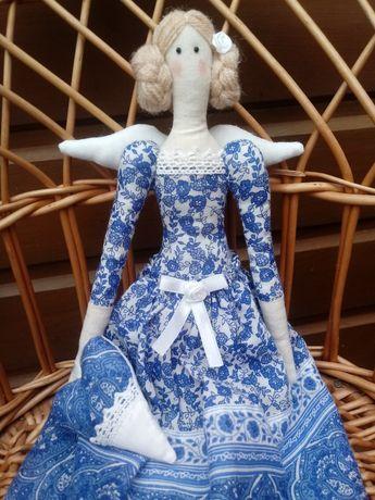 Lalka Tilda Niebieski Anioł