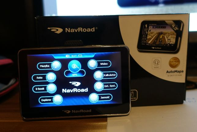 Nawigacja NavRoad NR 470 ENOVO