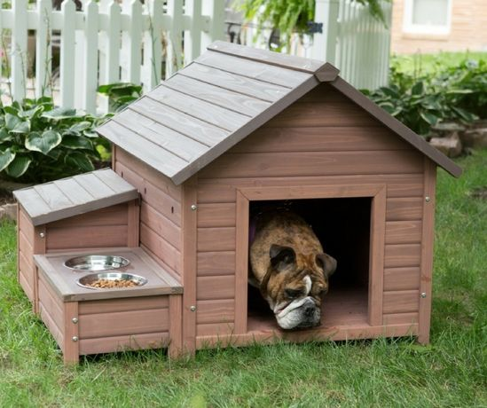 Будки для собак з дерева