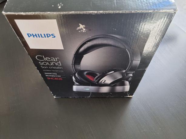 Słuchawki bezprzewodowe radiowe Philips SHC 8535