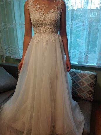Suknia ślubna używana r. 36-38