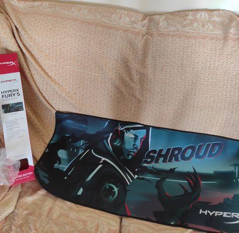 Игровой Ковер для мыши   Hyper x shroud  limited edition. Гарантия
