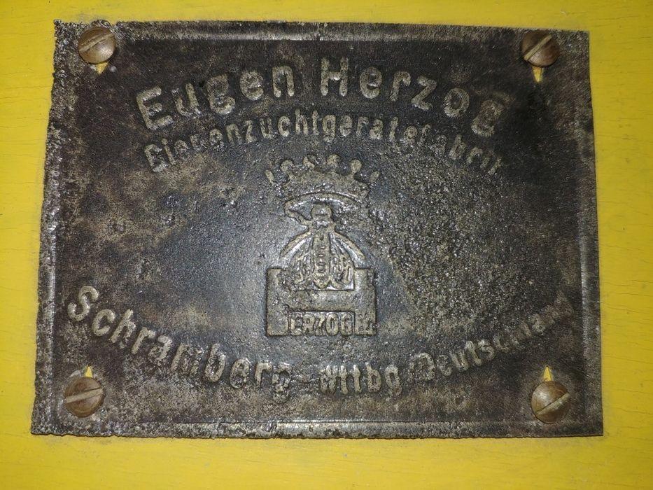 EUGEN HERZOG, urządzenie do produkcji plastrów miodu. Antyk Wrocław - image 1