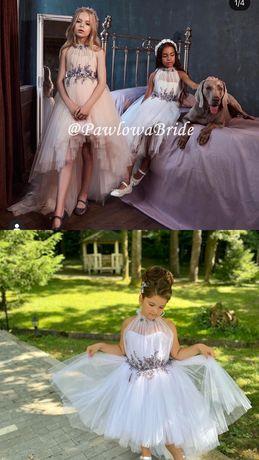 Нарядное платье на девочку от бренда PawlowaBride
