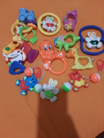 Погремушки набор пакет игрушек  грызунок для новорожденных