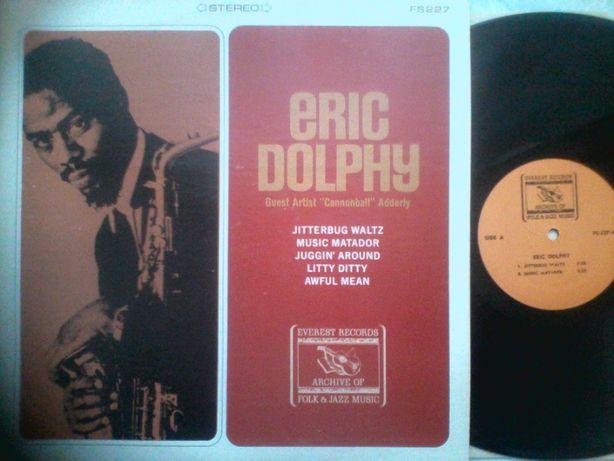 Lp Jazz Eric Dolphy USA 1968 vinyl пластинка