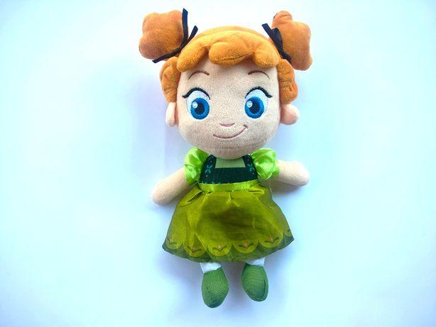 Przytulanka lalka Anna Kraina Frozen 34cm jak NOWA