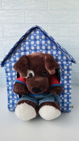 Build-a-bear щенок с будкой