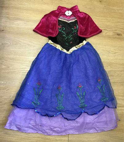 Карнавальное платье Анна «Холодное сердце» на 7-8 лет Disney