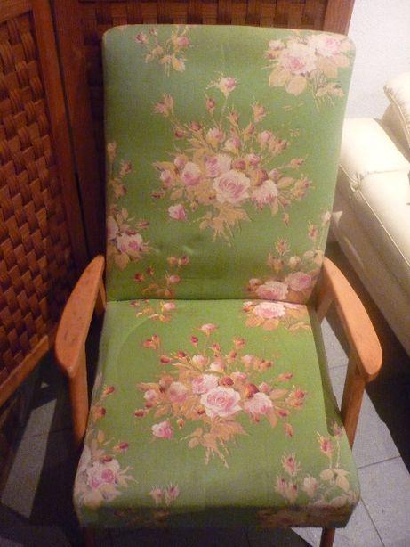 Cadeira tecido decorativo