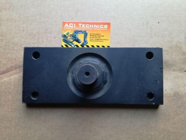 Mocowanie uchwyt kosza sitowego lewy Case 8010 New Holland CR CX