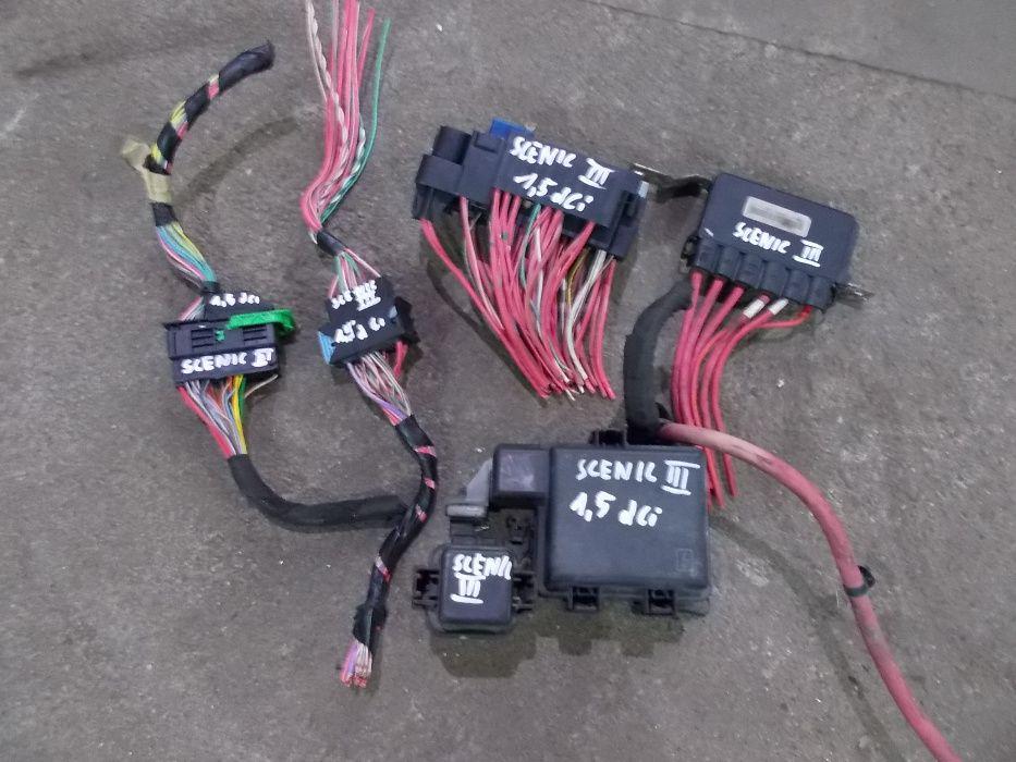 Wiązka ,kostka ,kabel Scenic III 1.5 DCI
