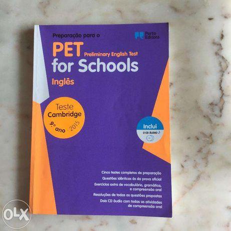 Vendo livro Pet for Schools Inglês