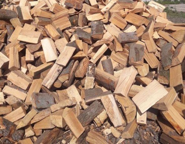 Drewno kominkowe opałowe Buk Sosna